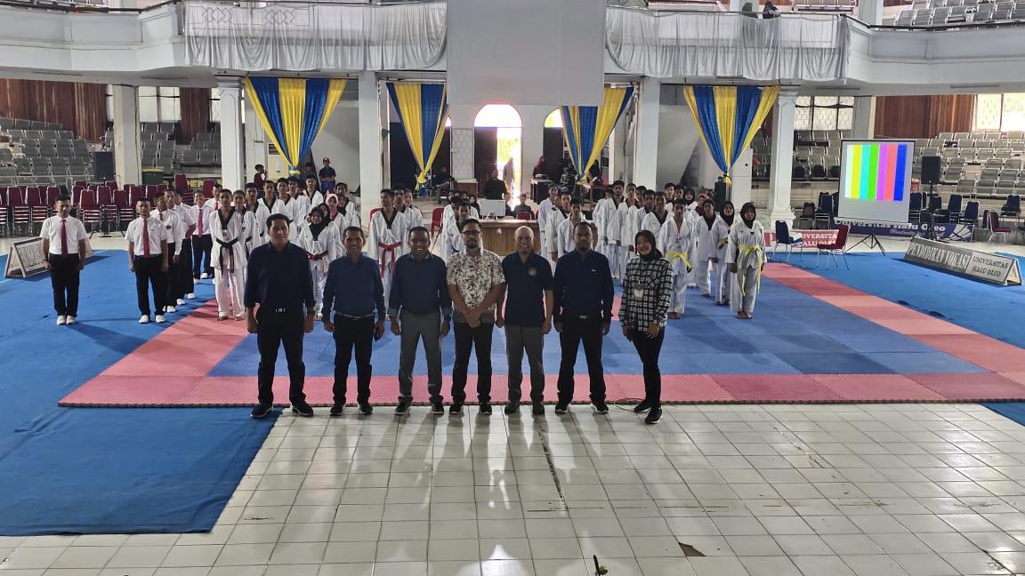 Puluhan Atlet Taekwondo UHO Adu Skill