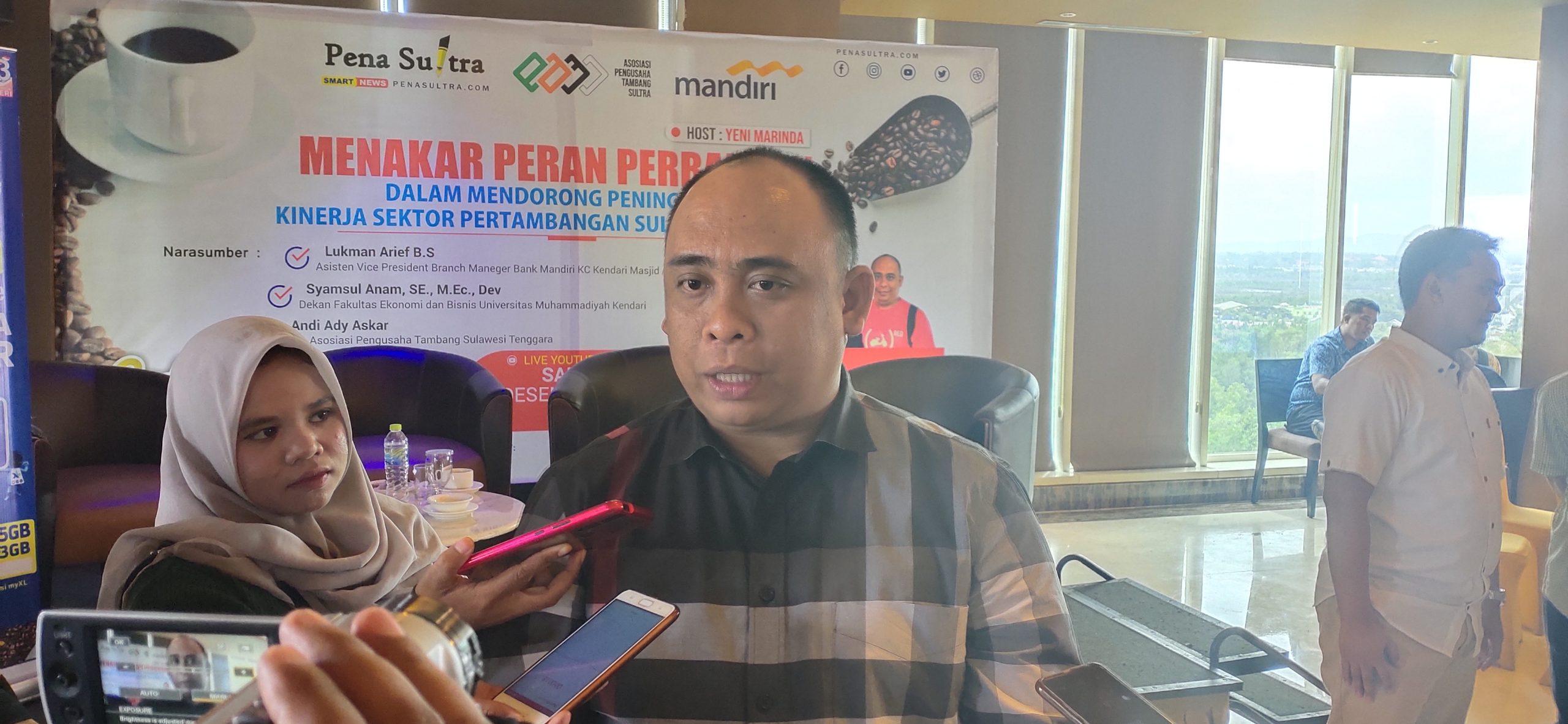 2020 Ekspor Bijih Nikel Dilarang, Begini Langkah Asosiasi Pengusaha Tambang Sultra