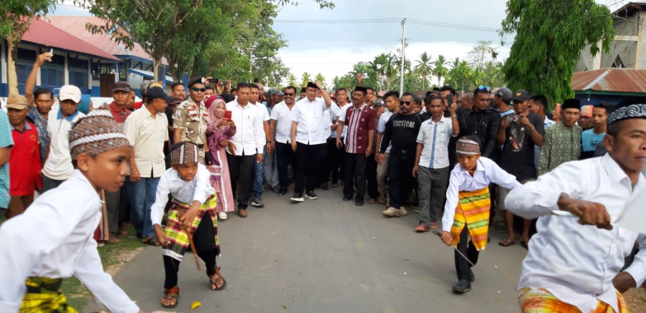 Silahturahmi di Kabawo, Masyarakat Siap Kawal dan Dukung Rajiun Maju Pilkada Muna 2020