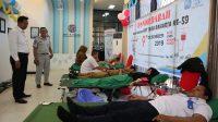 Jasa Raharja Sultra Gelar Donor Darah dan Pengobatan Gratis Menyambut HUT ke-59