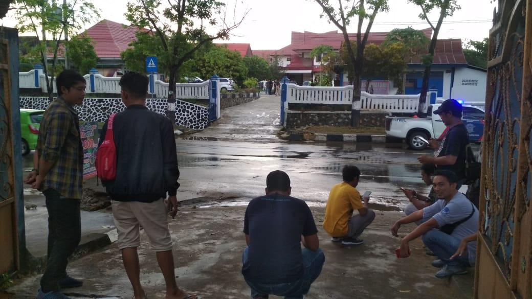 Rekonstruksi Penembakan Almarhum Randi, Jurnalis Dilarang Mengambil Gambar
