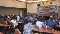 Buka Workshop SPP dan SOP, Rektor UHO Tekankan Kinerja Sesuai SOP