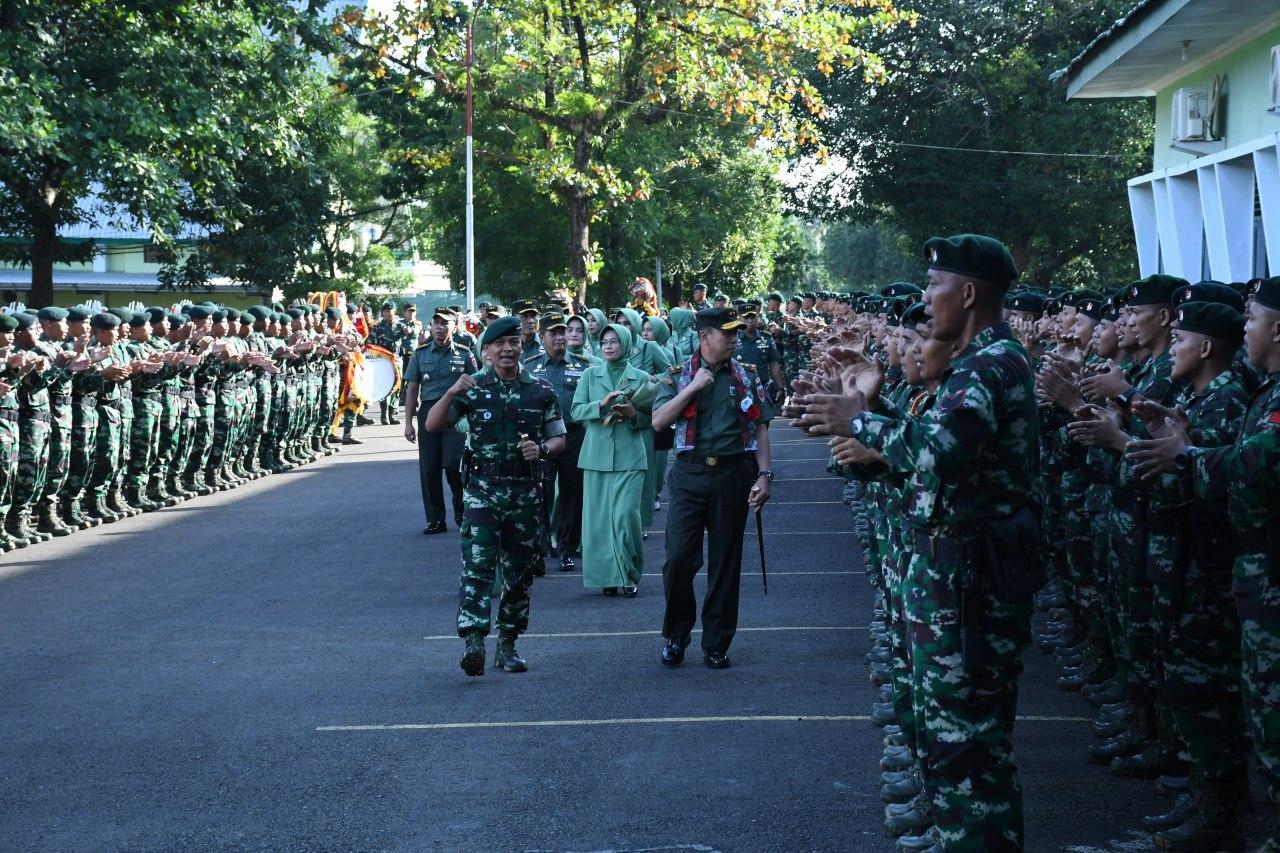 Pangdam Hasanuddin Kunjungi Raider 700/WYC