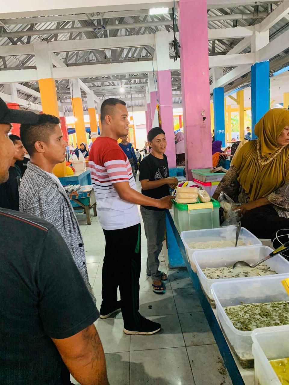 Kunjungi Pasar Tradisional, Febri Hidayat Dengarkan Aspirasi Pedagang
