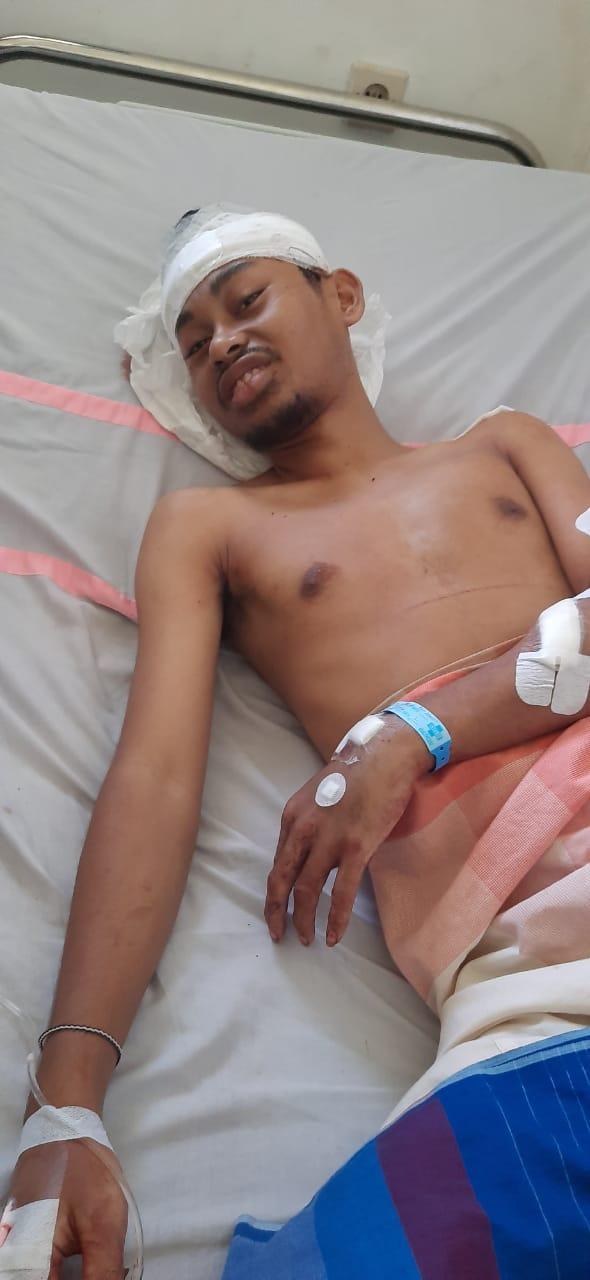 Begal Beraksi Kembali, Mahasiswa UHO Terluka di Kepala