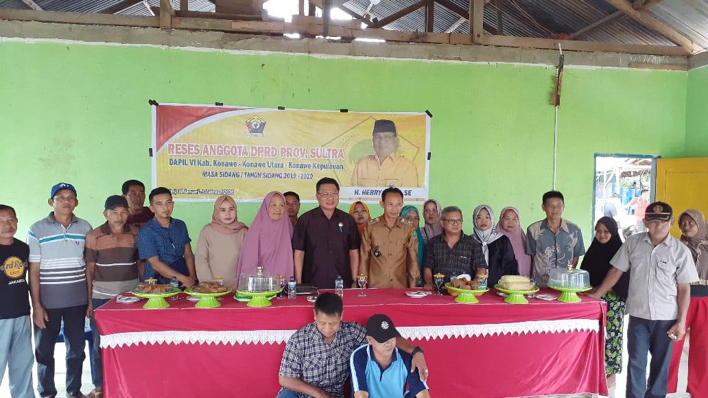 Reses Perdana Herry Asiku, Masyarakat Usul Bantuan Alat Pertanian