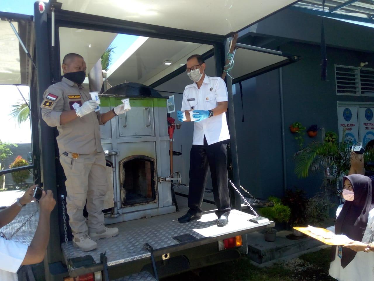 BNNP Sultra Musnahkan 916 Gram Sabu