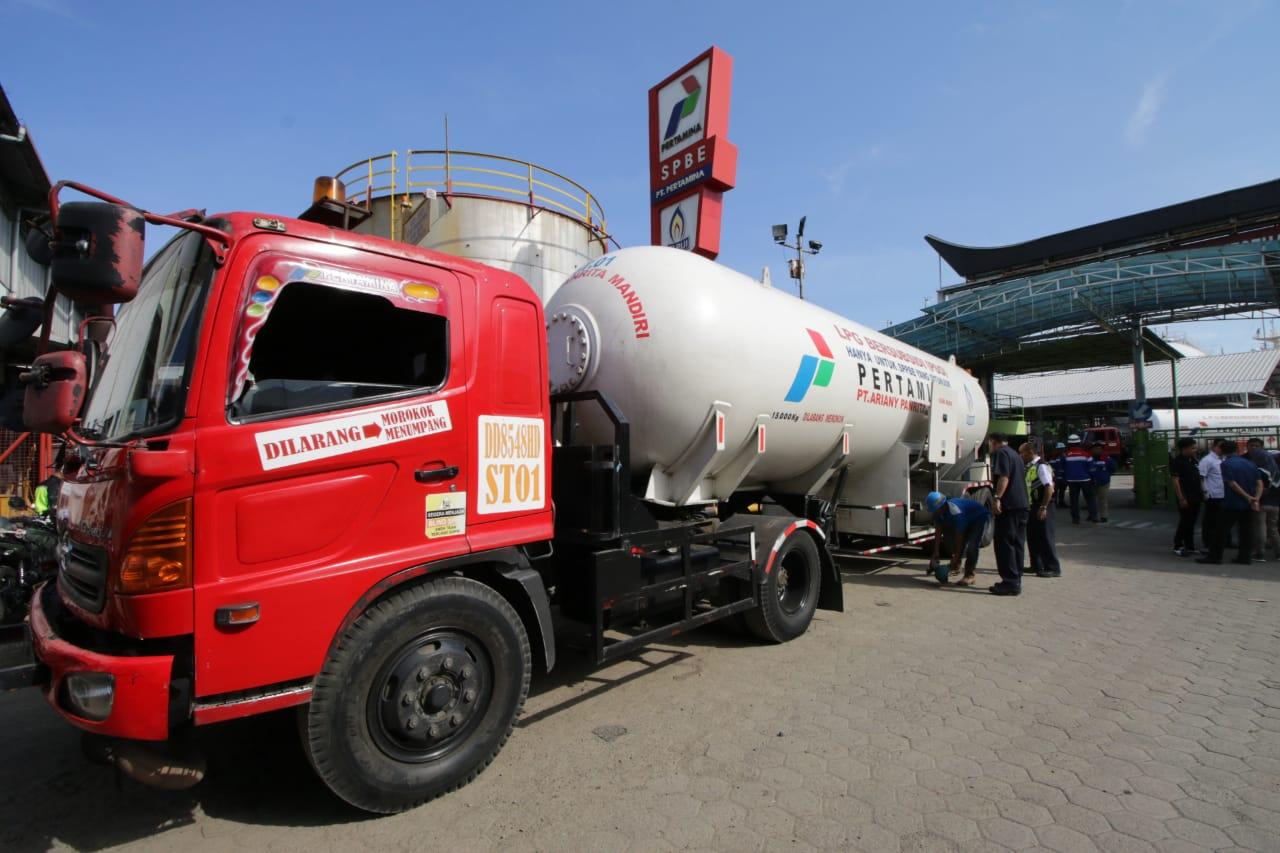 Seminggu Jelang Lebaran, Pertamina Pastikan Pasokan LPG di Sulawesi Aman