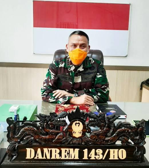 Danrem 143 HO : Siap Laksanakan Amanat Pangdam XIV/Hasanuddin