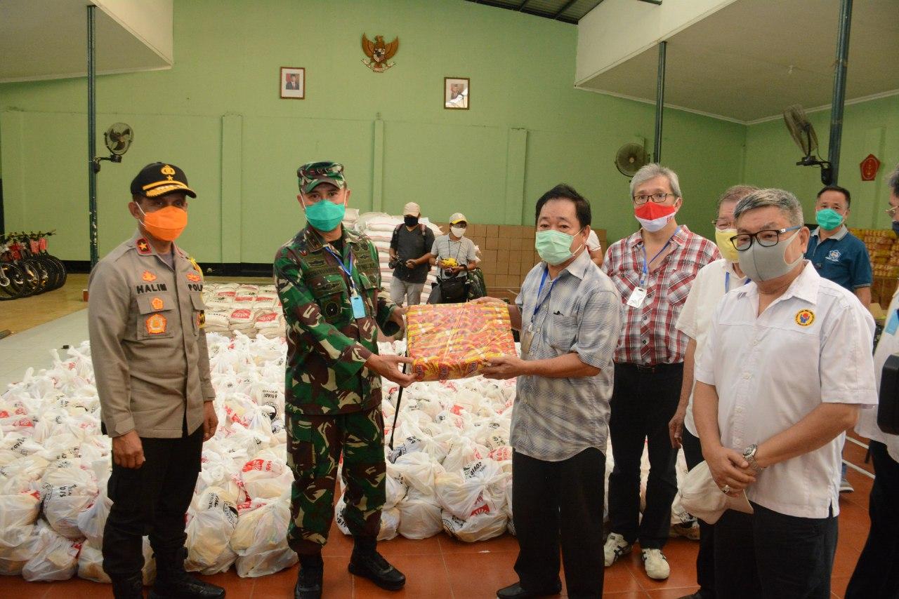 Kodam XIV/Hasanuddin Kembali Terima Bantuan, Pangdam: Segera Disalurkan ke Masyarakat