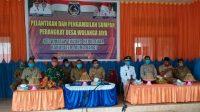 Hadiri Pelantikan Perangkat Desa, Danramil Tikep: Tingkatkan Kinerja Sebagai Pelayan Masyarakat