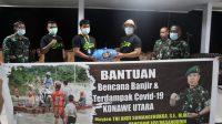 Bantu Korban Banjir di Konut, Pangdam Hasanuddin Serahkan 686 Paket Sembako