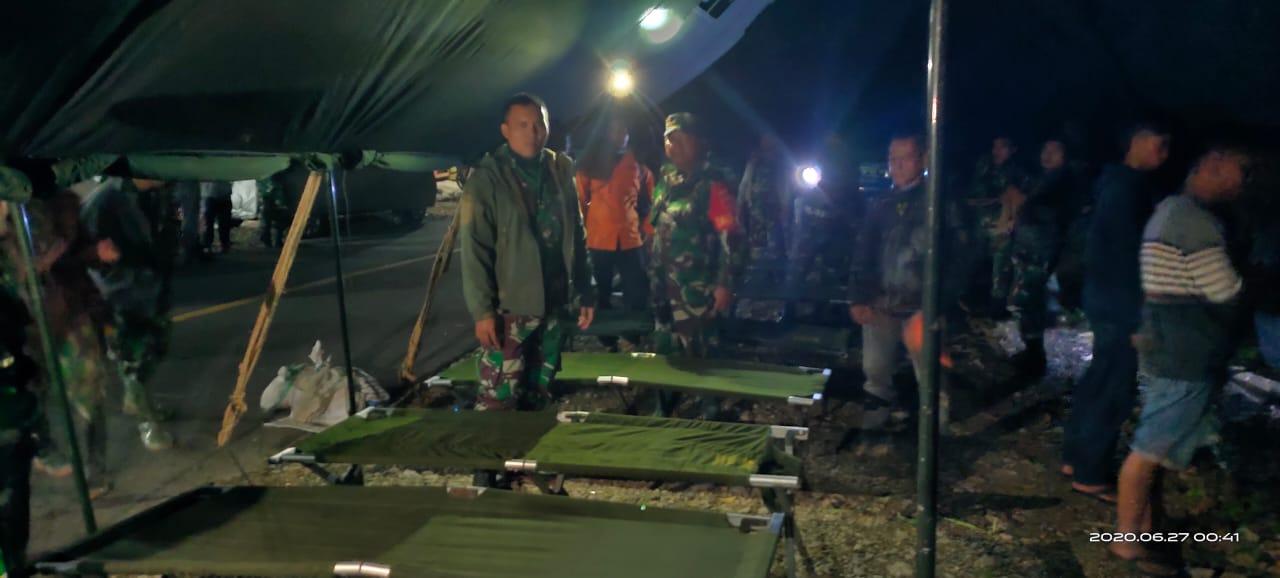 Gerak Cepat Pangdam Hasanuddin, Bantu Warga Korban Bencana Longsor di Palopo