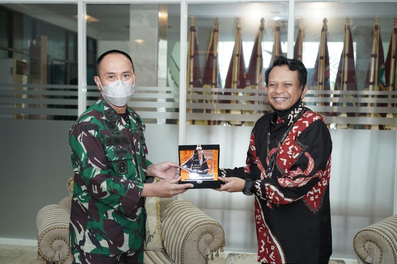 Tingkatkan Kesejahteraan Prajurit, Pangdam Hasanuddin dan Pegadaian Jalin Kerjasama