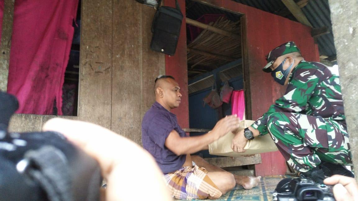 Perhatian Pangdam Hasanuddin Bagi Warga Wakatobi Terdampak Covid19