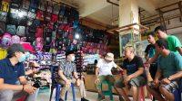 Kunker ke Pasar Basah, Ketua Komisi II DPRD Kendari Tampung Keluhan Pedagang