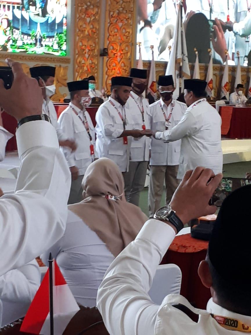 Prabowo Kembali Pimpin Partai Gerindra