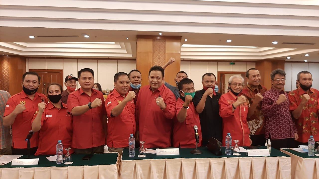 DPP PDIP Umumkan Cakada Koltim, Konsel, Konkep dan Muna untuk Pilkada 2020