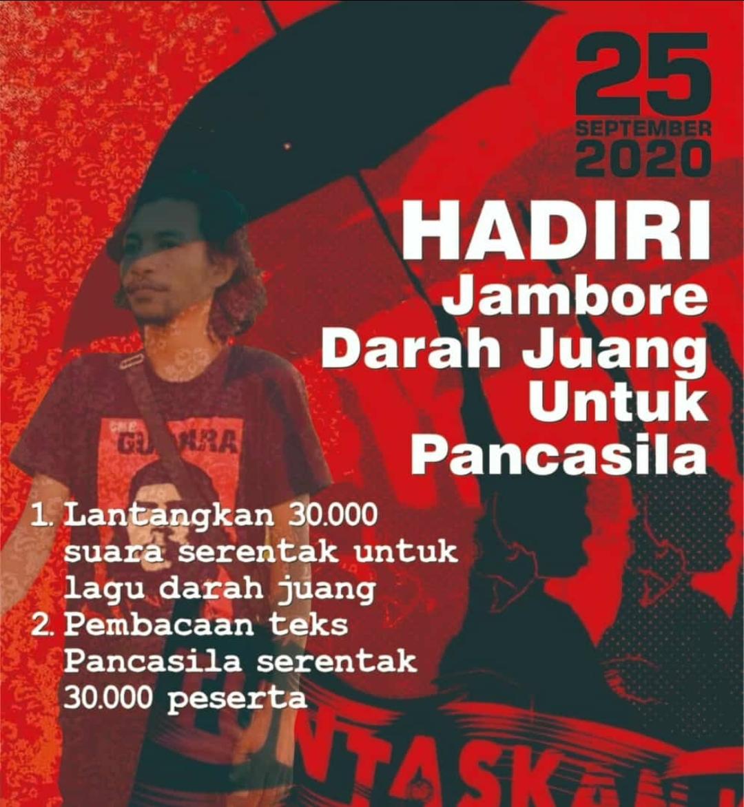 Digelar 25 September, Jambore Darah Juang Untuk Pancasila Bakal Dihadiri 30 Ribu Peserta
