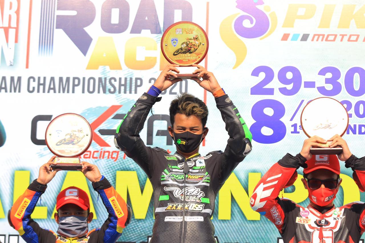 Team ASR Sabet Juara di Kejurda Road Race Piala Menpora