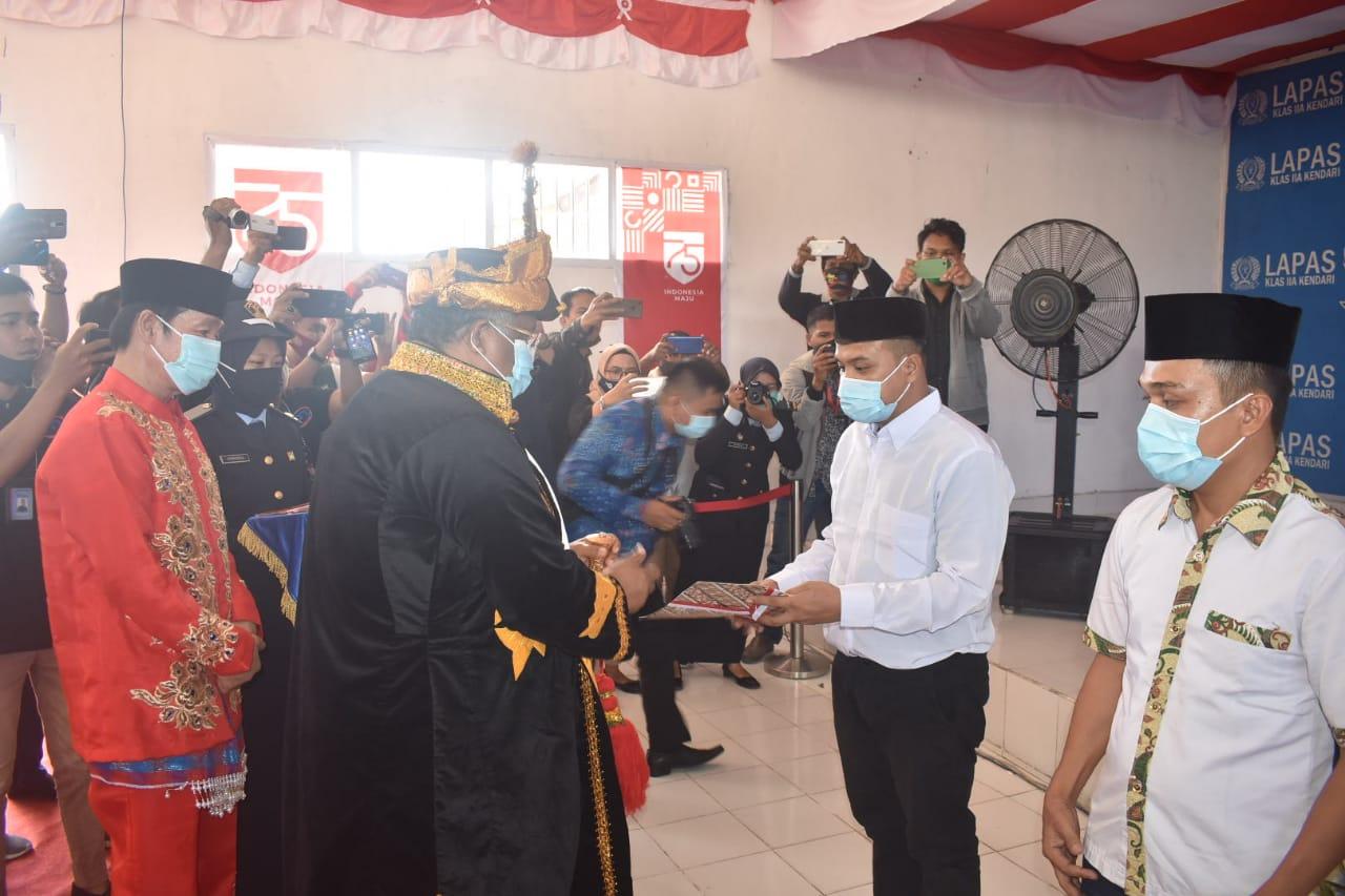 HUT RI ke 75, 1043 Warga Binaan di Sultra Terima Remisi, 9 Orang Bebas