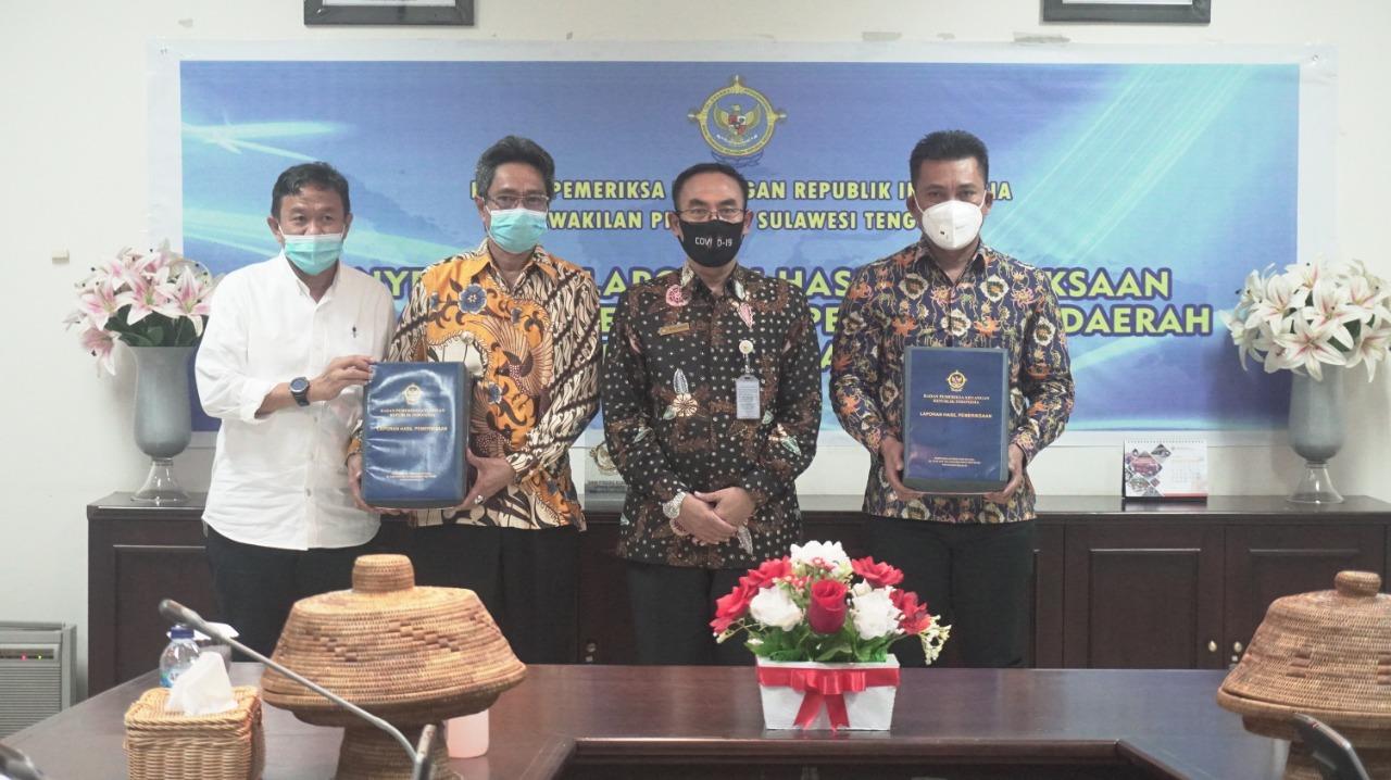 Penghujung Masa Jabatan, Amrullah - H Andi Lutfi Sukses Raih Predikat WTP