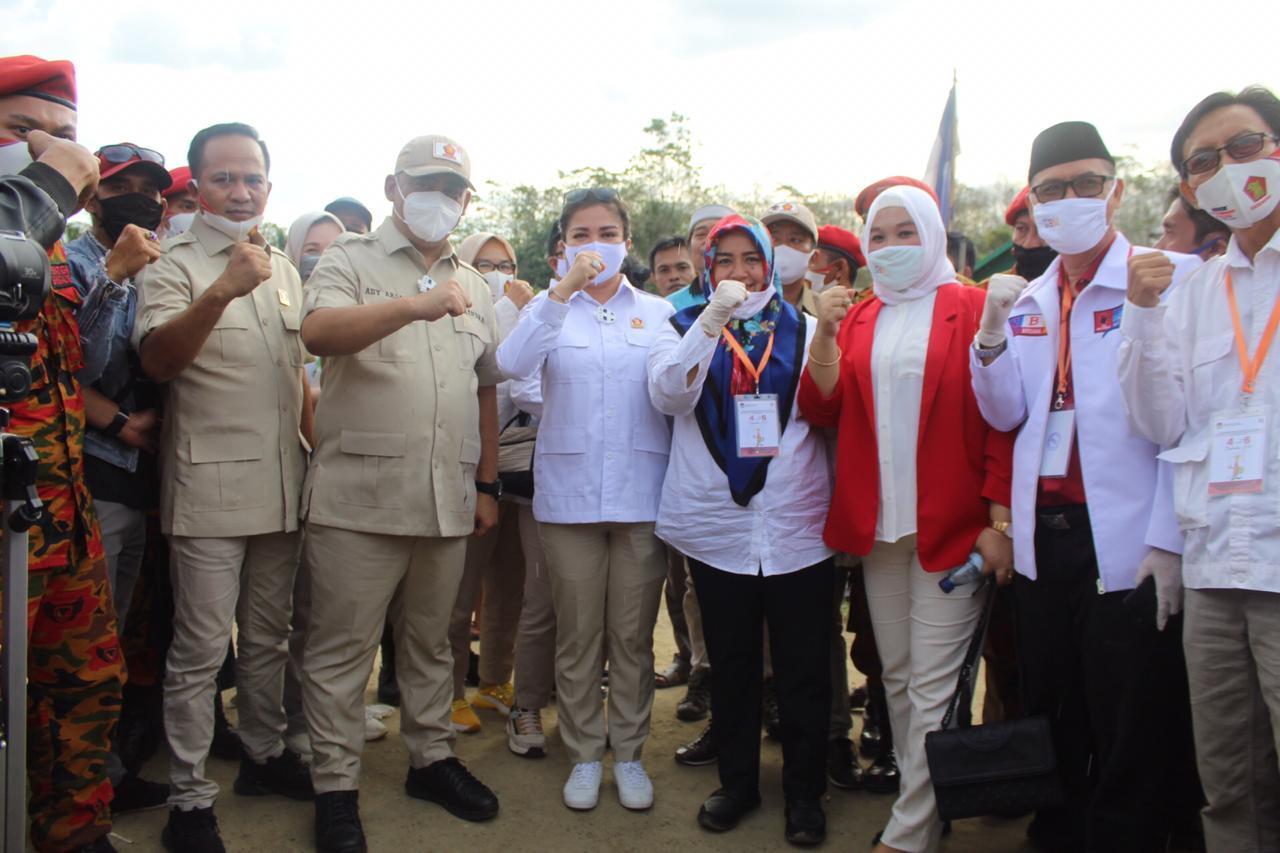 Menangkan SBM, Gerindra Berjuang Bersama Rakyat Koltim