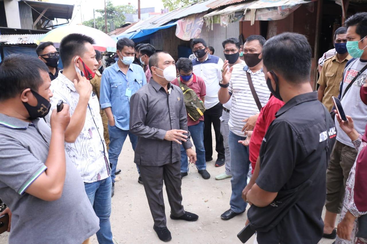 Dewan Kendari Warning Pengelola Pasar Basah Mandonga