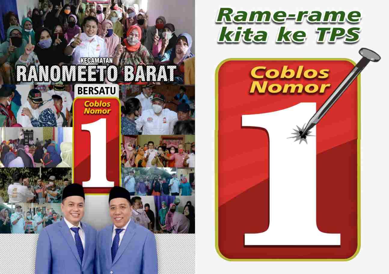 Kampanye Edukasi di Ranomeeto, Rusmin - Senawan Paparkan Program Bangun Kampung