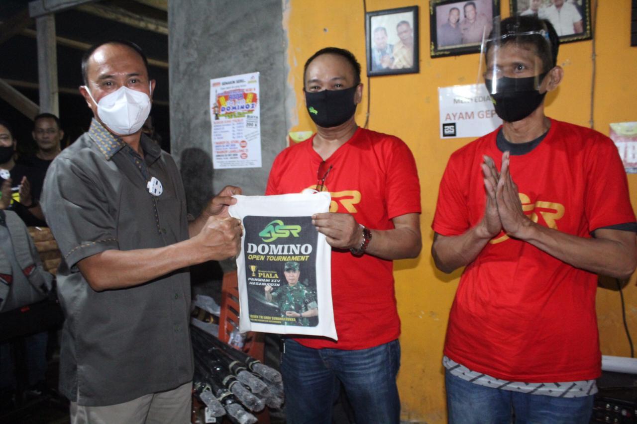 Perlombaan Domino Seri IX Dihadiri Pangdam Hasanuddin
