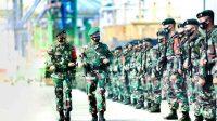 Lepas Prajurit Raider 700/WYC ke Papua, Pangdam Hasanuddin: Penugasan Ini Suatu Kehormatan