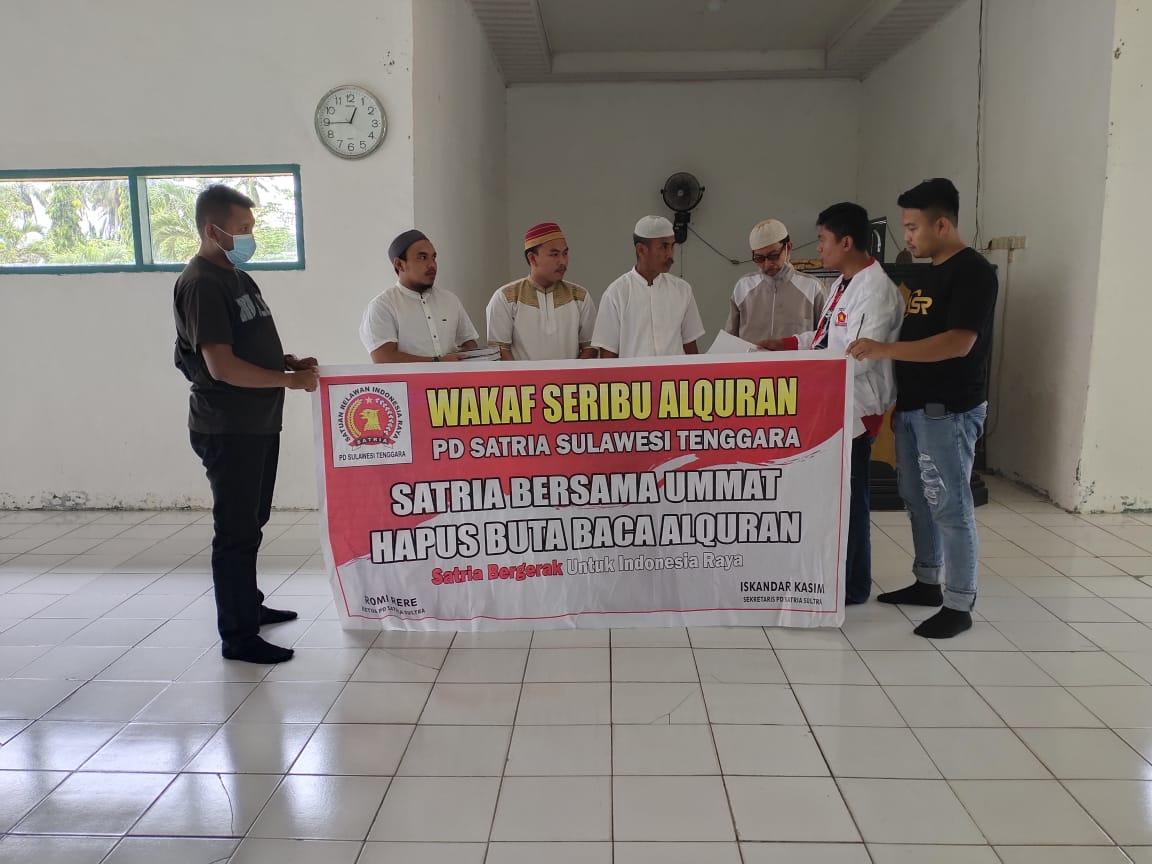 Program Religius Partai Gerindra dan PD Satria Masuk Kabupaten Koltim