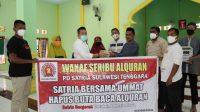 Tahap III Wakaf Alquran, PD Satria Sasar Masjid di Pelosok Kendari