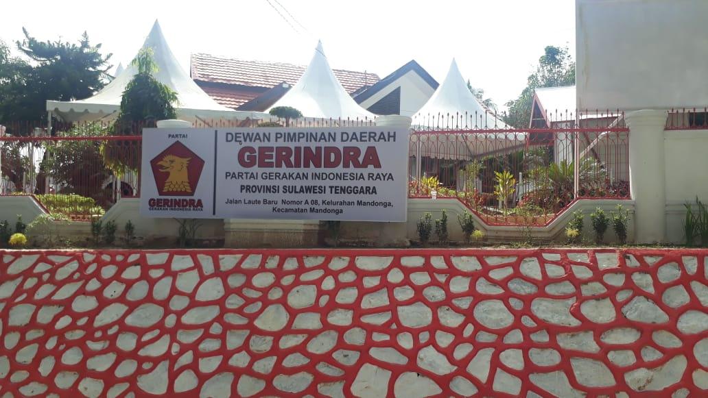Peduli Sulbar, DPD Partai Gerindra Sultra Buka Posko Bantuan