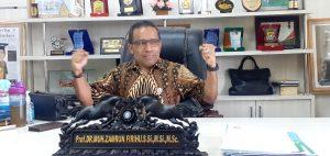 Besok, Prof Zamrun Dilantik Untuk Periode Kedua Pimpin UHO