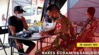 Kodam Hasanuddin Buka Dapur Umum dan Posko Kesehatan Bagi Korban Gempa Sulbar