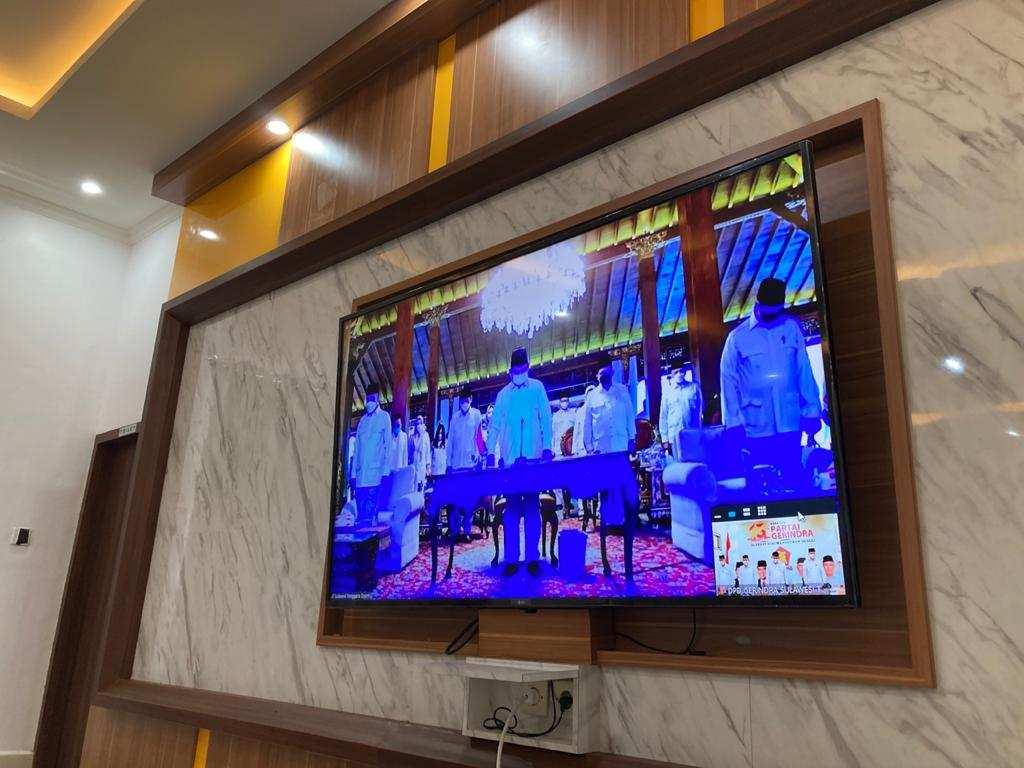 Pelaksanaan HUT Gerindra XIII Dilaksanakan Secara Virtual