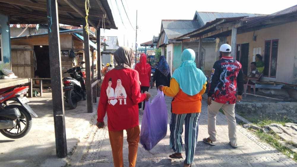 DPC Partai Gerindra Wakatobi Gelar Bakti Sosial di Momen HUT Gerindra XIII