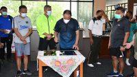 Pangdam Hasanuddin Resmikan Fitness Center Korem 143 HO