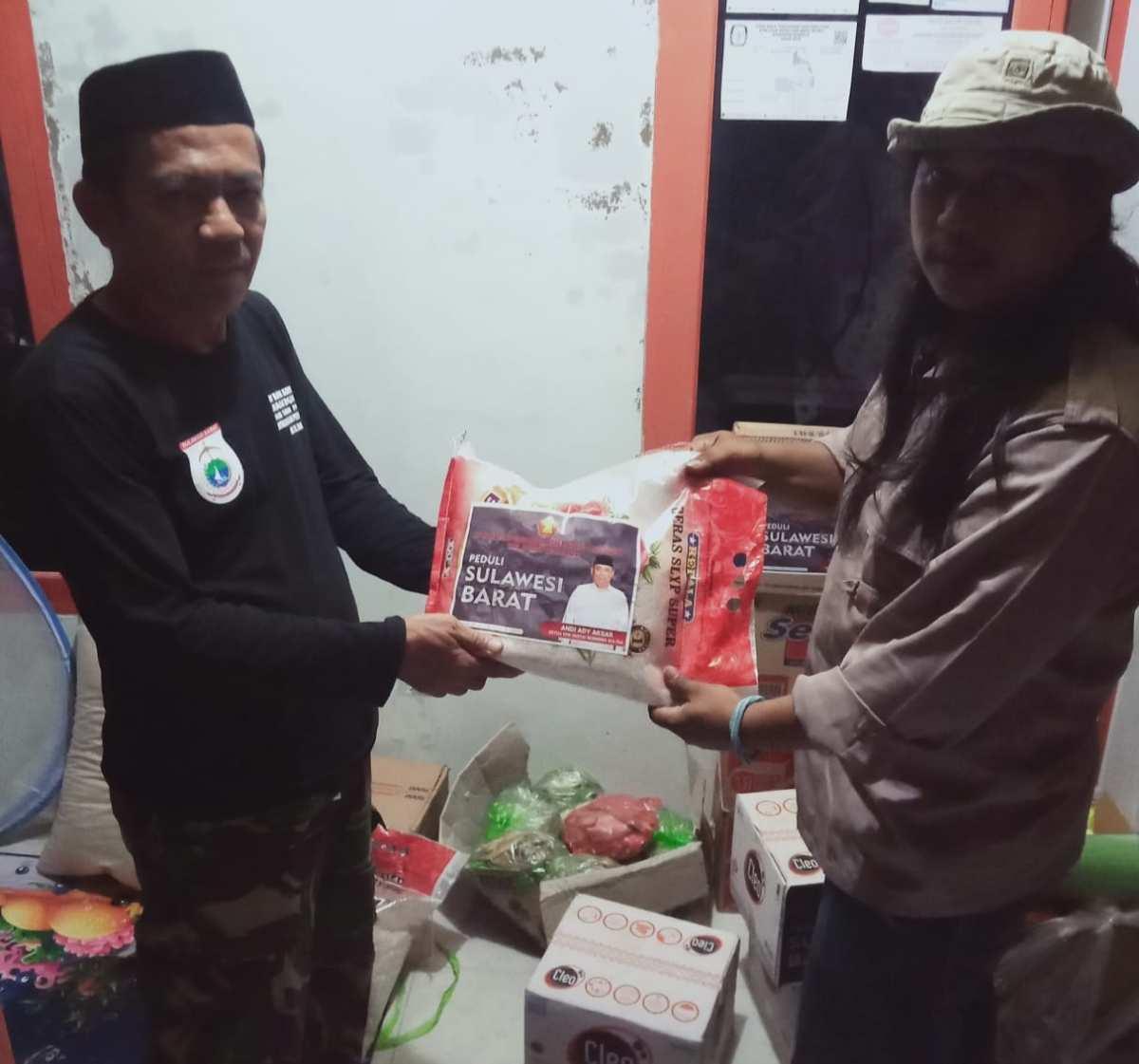 Tiba di Sulbar, Bantuan DPD Partai Gerindra Sultra Langsung Disalurkan ke Masyarakat