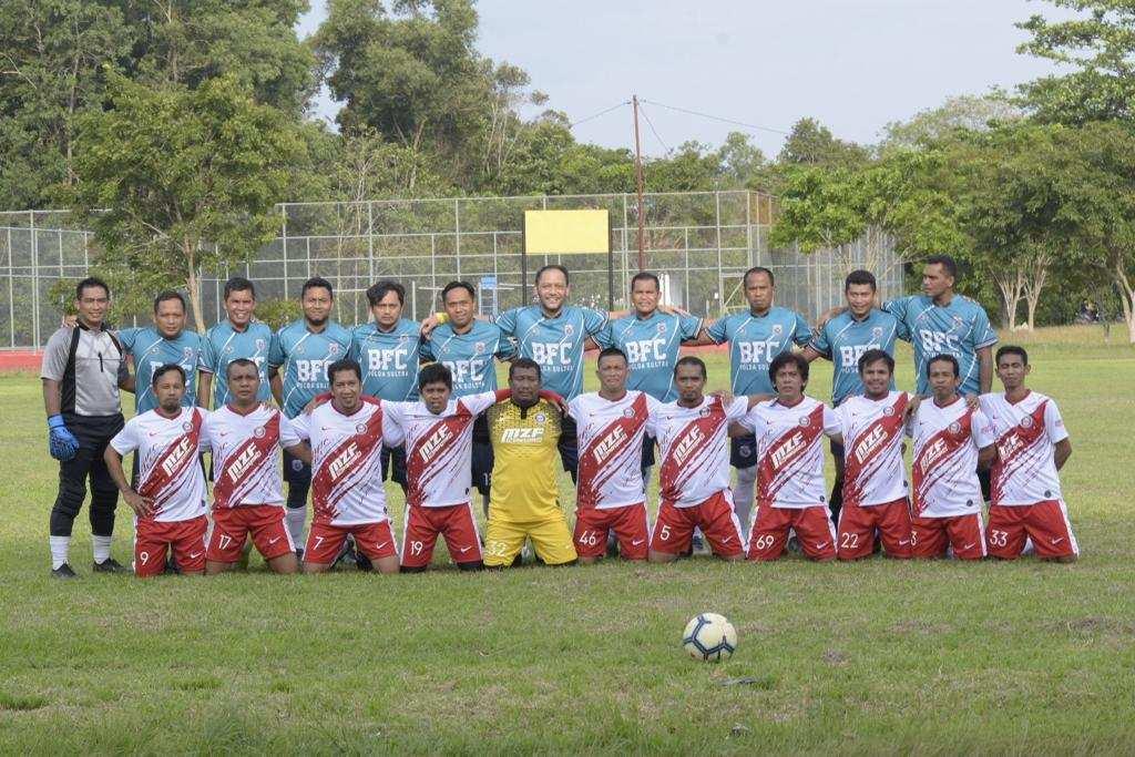 Pertandingan Persahabatan, UHO Taklukan Tim Bhayangkara Polda Sultra 3-1