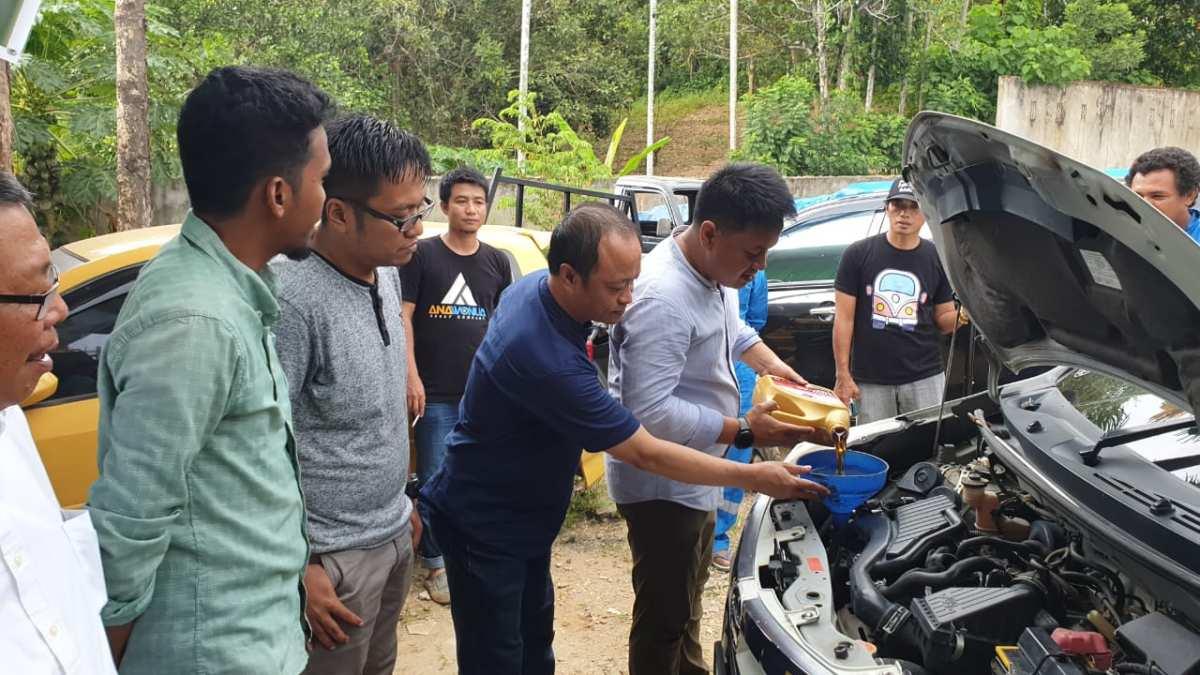 Buka Layanan Perbengkelan, Workshop Ana Wonua Diserbu Driver grab Online