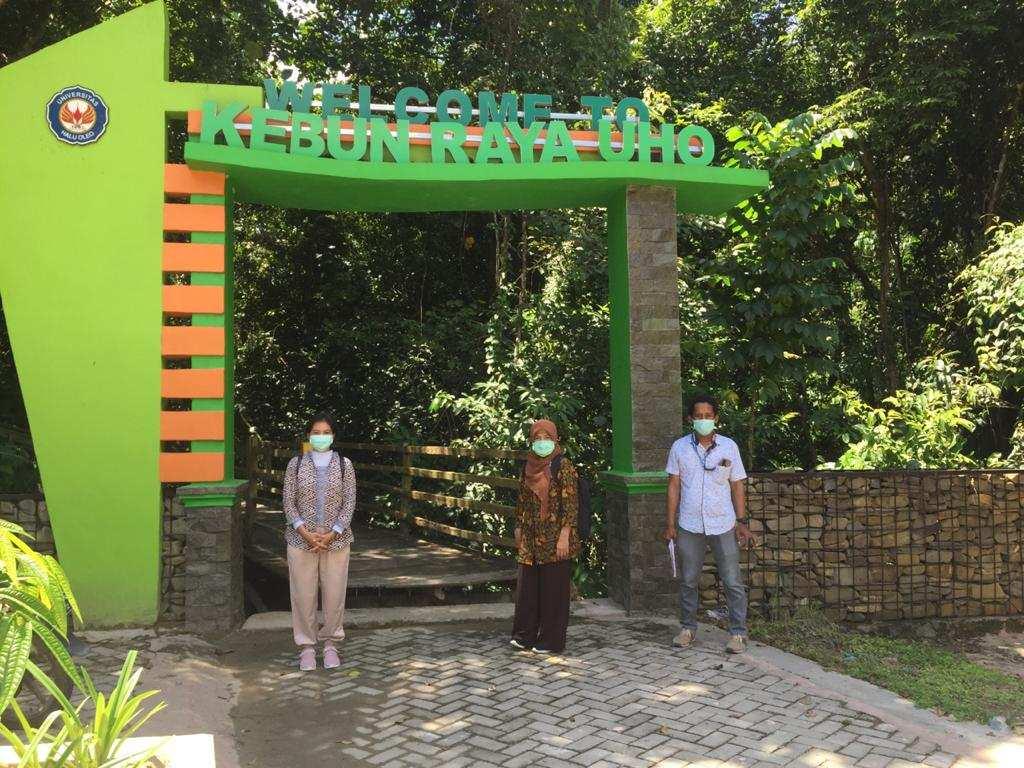 Kebun Raya UHO, Pertama di Perguruan Tinggi se-Indonesia