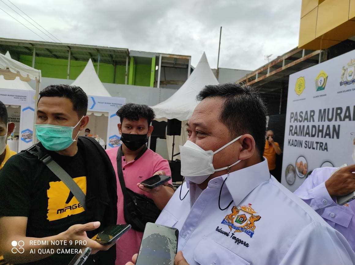 Jelang Idul Fitri, Kadin Sultra Gelar Pasar Murah