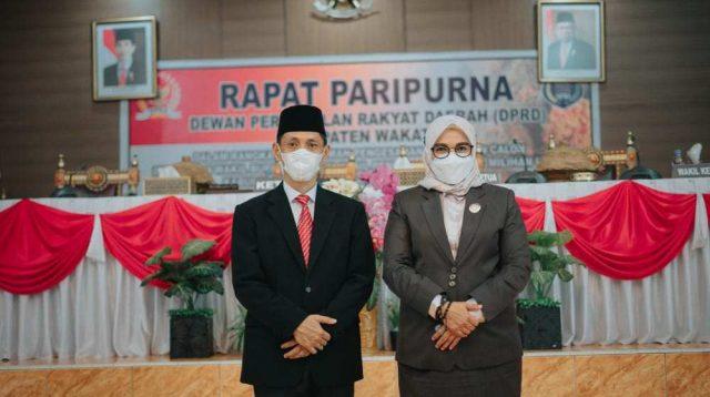 28 Juni Mendatang, Gubernur Sultra Lantik Haliana - Ilmiati Daud