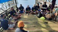 Relawan ASR Edukasi Petani Rumput Laut di Kota Baubau