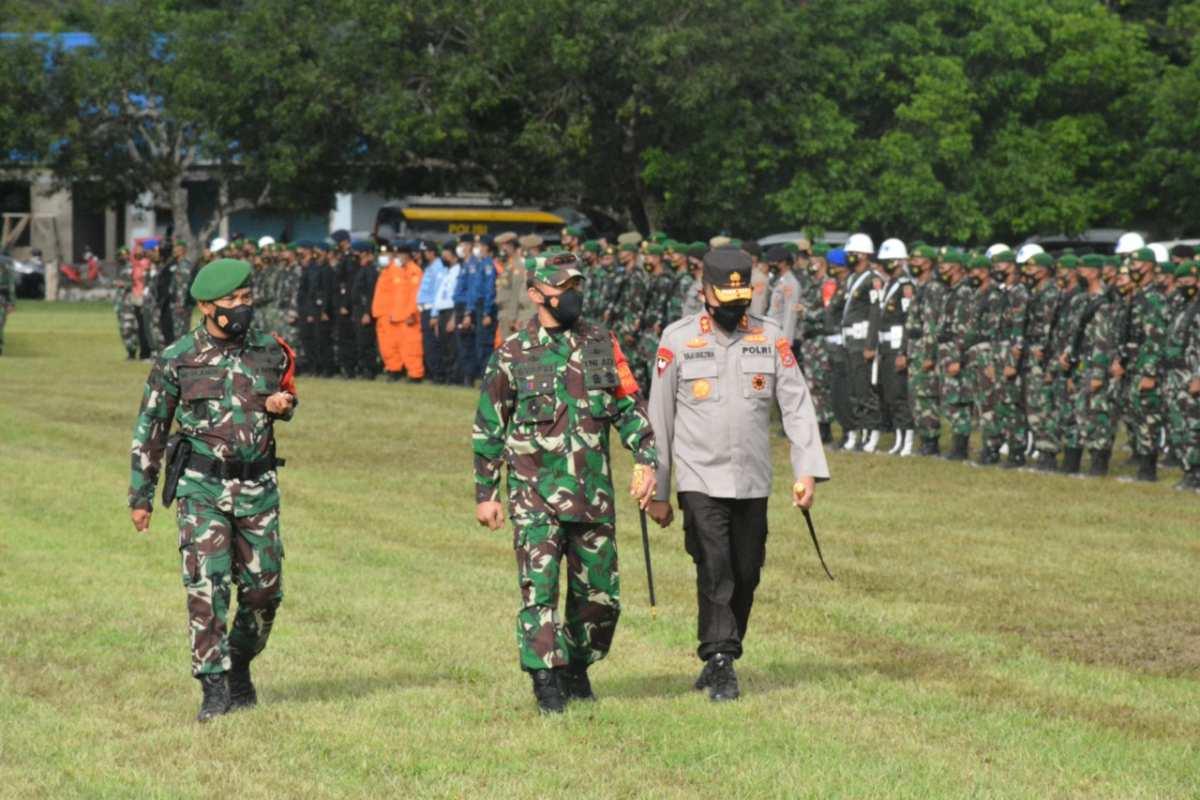 4500 Personil Gabungan Amankan Kunker Presiden Joko Widodo di Sultra