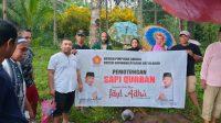 Gerindra dan ASR Bagikan Ratusan Kilogram Daging Qurban untuk Masyarakat Konkep