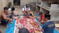 Di Konut, Gerindra dan ASR Bagikan 300 Kg Daging Sapi Qurban ke Masyarakat