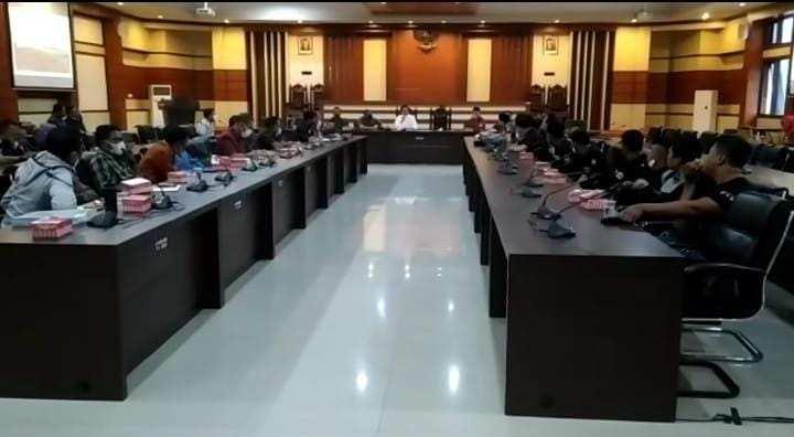 DPRD Provinsi Gelar RDP persoalan Perusahaan Tambang PT RJL di Kolut